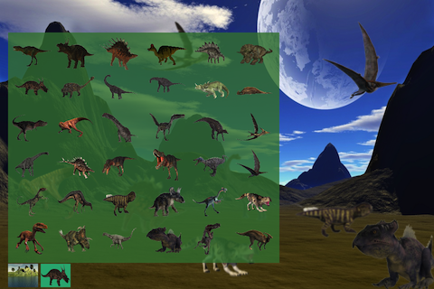 Screenshot Dinosaur Stickers Free