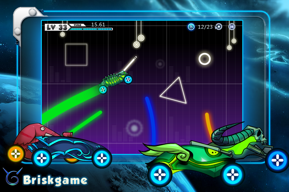 Screenshot Light Rider Lite