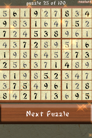 Screenshot A Sudoku++