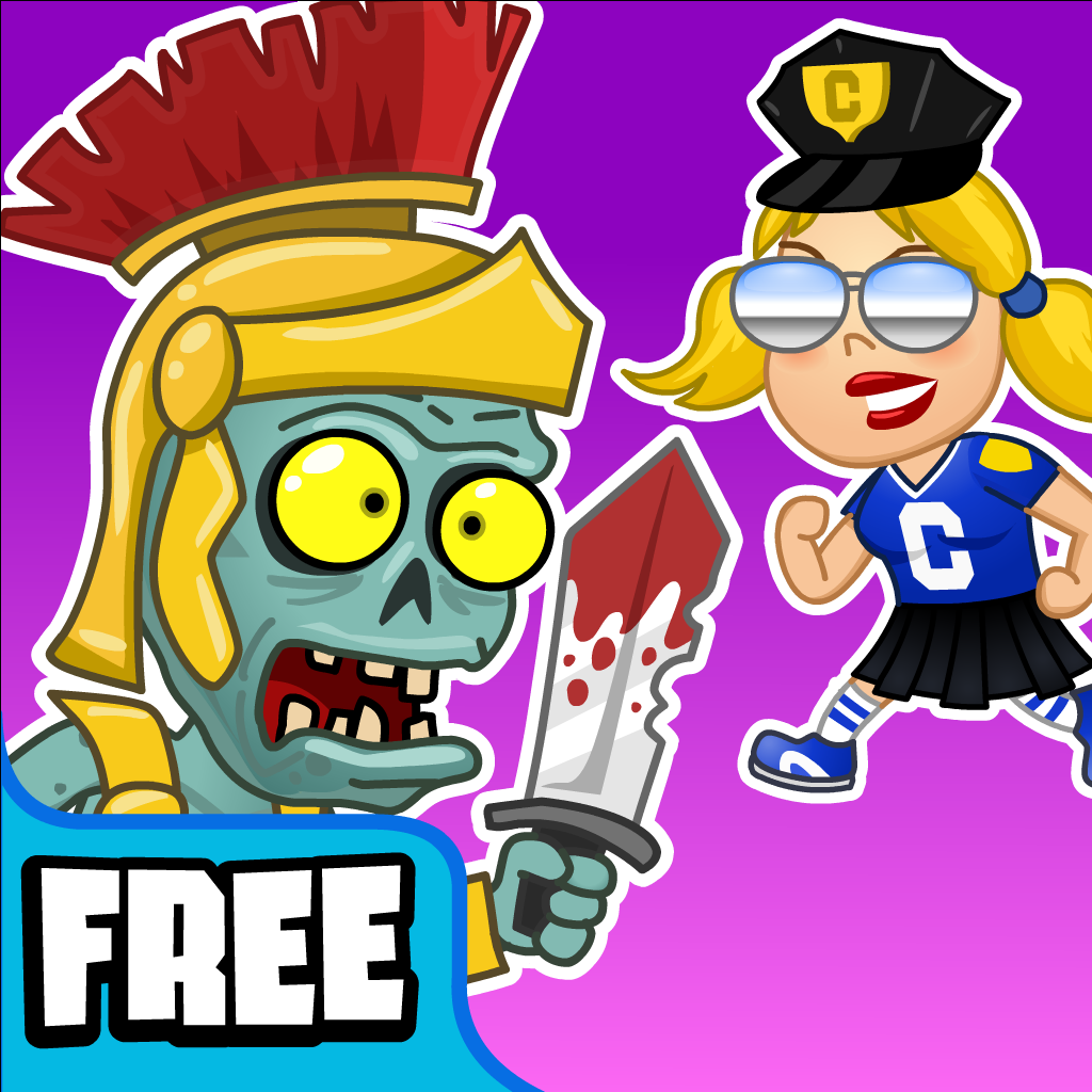 Cheerleader Cops vs Zombie Soldiers – Bloody Fairytales